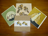 Hand made postcards